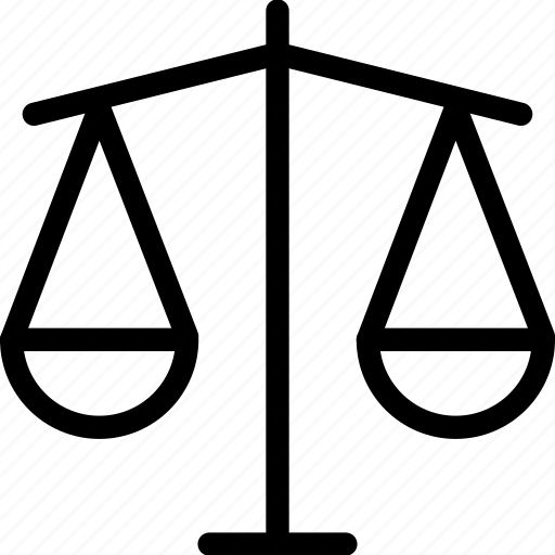 government, justice, law, scales, web icon