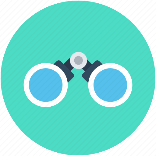 binocular, field glass, search, spyglass, telescope icon