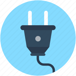 electrical plug, electricity, plug, plug connector, power plug icon