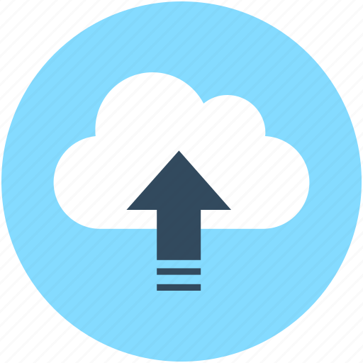 cloud computing, cloud network, cloud sharing, cloud transfer, cloud uploading icon