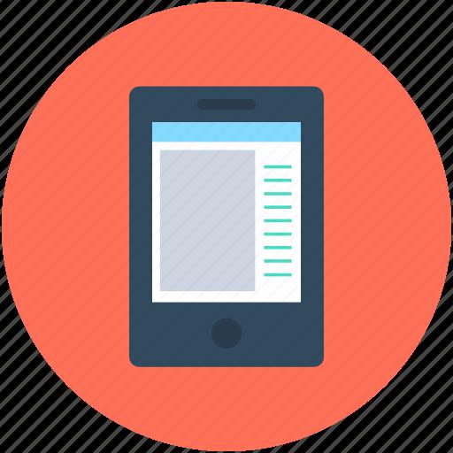 app design, app interface, mobile app, mobile application, mobile media icon