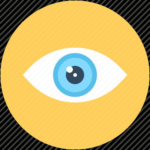 eye, look, see, view, visible, visual icon