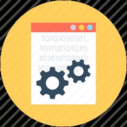 cog, cogwheel, gear, options, screen settings icon