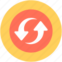 loading arrows, processing arrows, refresh, sync, synchronization icon