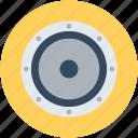 audio speaker, bass speaker, loudspeakers, speaker, subwoofer icon