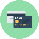 credit cards, debit card, modern banking, online banking, smart card icon