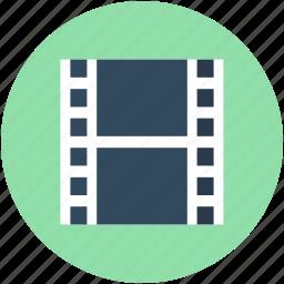 camera reel, film reel, film strips, image reel, movie reel icon