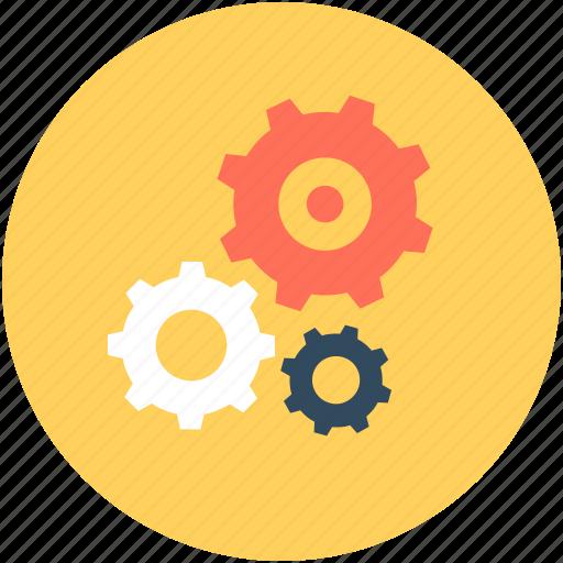 adjustment, cog, cogwheel, gearwheel, mechanism icon