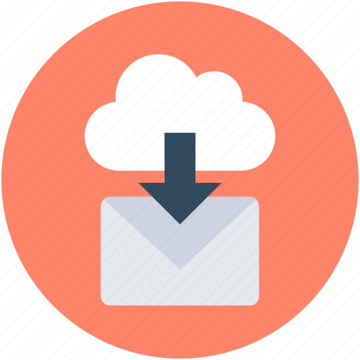 email, envelope, inbox, incoming email, message icon