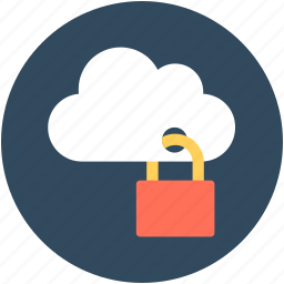 cloud lock, cloud security lock, computing cloud, lock, locked cloud icon