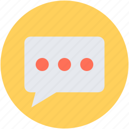 chat balloon, chat bubble, comment, speech balloon, speech bubble icon