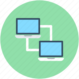data share, data storage, network share, pc share, server share icon
