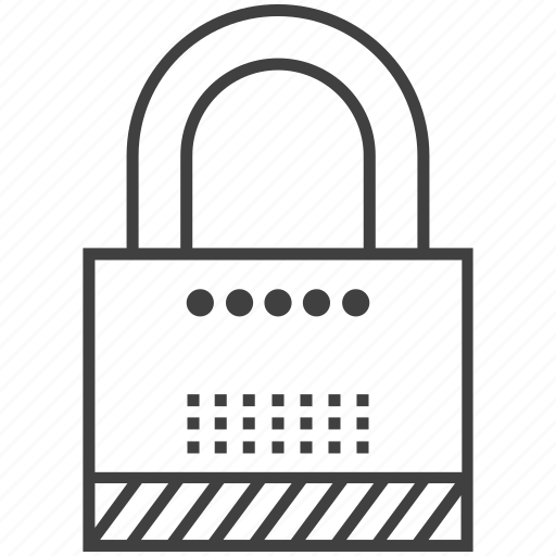 Lock, padlock, password, privacy, security icon - Download on Iconfinder