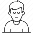 avatar, person, profile avatar, user, user avatarm icon