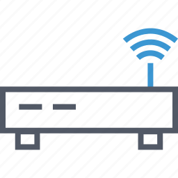 connection, internet, router icon