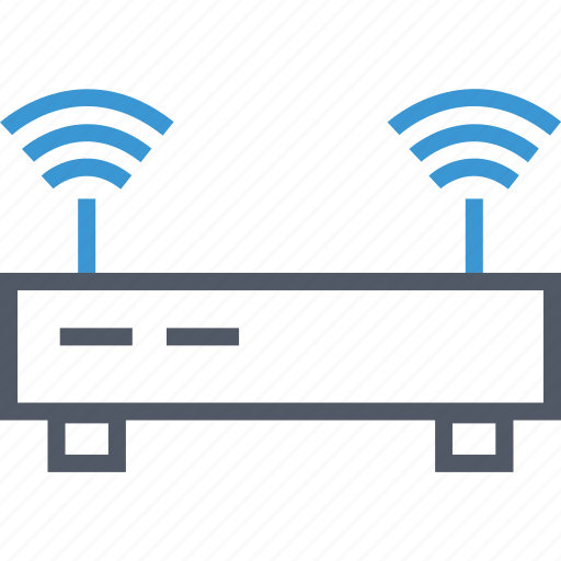 connection, internet, router, wifi icon