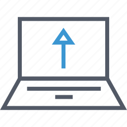 connection, internet, save, upload icon