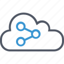 cloud, data, save, upload icon