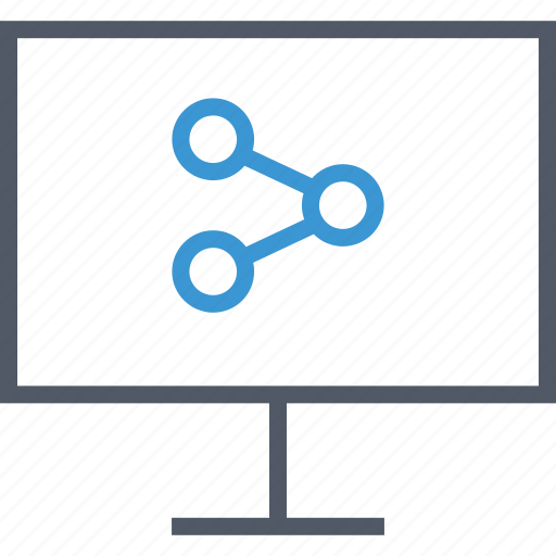 computer, data, database icon