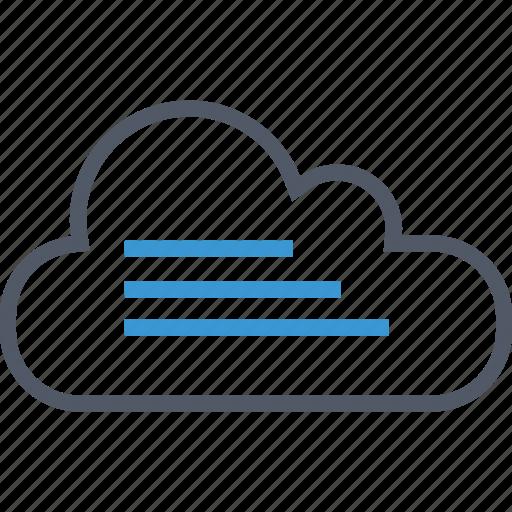 cloud, data, user icon