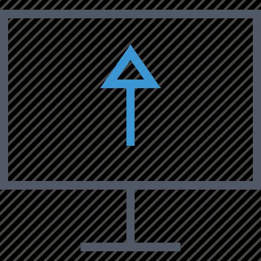 communication, computer, upload icon