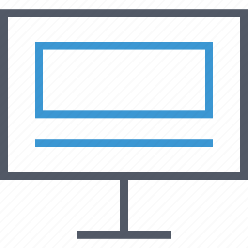 computer, website, wireframe icon