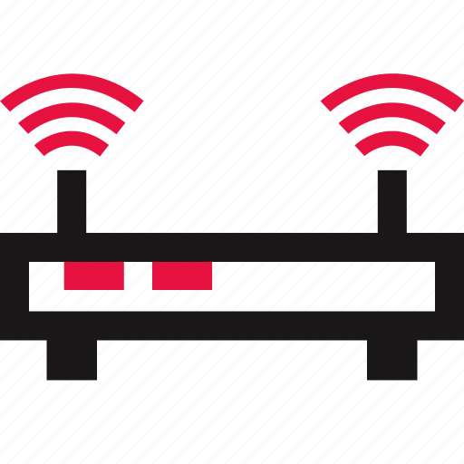 communication, online, router, wifi icon