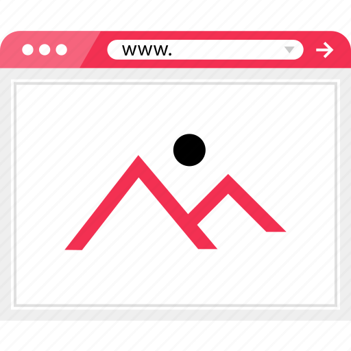 full, gallery, view, width icon