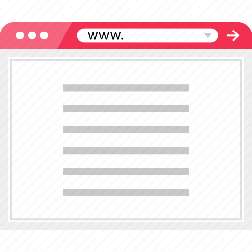 article, layout, news, page, web icon