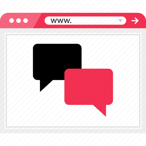 chat, conversation, onilne, talk, wireframe icon
