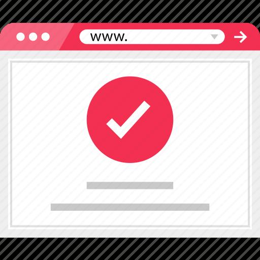 check, good, mark, ok, wireframe icon