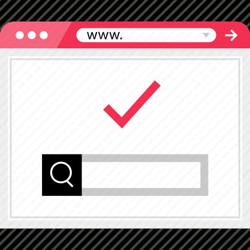 check, good, google, mark, ok, wireframe icon