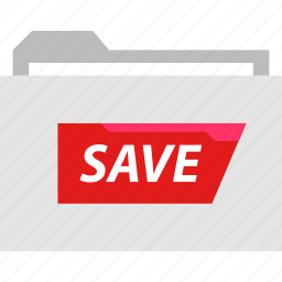 archive, folder, online, web icon