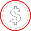 fund, funding, money icon