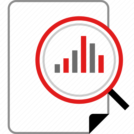business, online, reporting icon