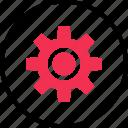 online, options, setup, web icon