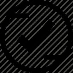 approve, check, mark, ok icon