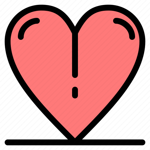 heart, love, spring icon
