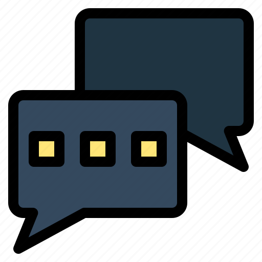 chat, chatting, mail icon