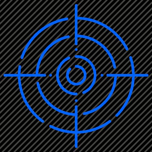 focus, focused, target icon