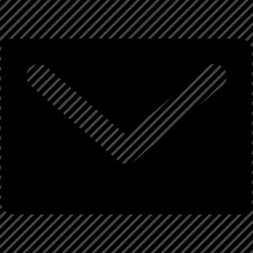 envelope, mail, message, post envelope, post letter icon