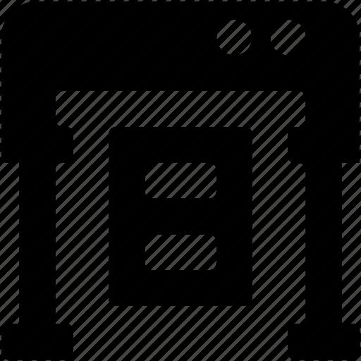 inkjet printers, laser printers, photocopier, printer, printing machine icon