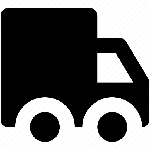 cargo truck, delivery van, logistic delivery, shipping truck, vehicle icon
