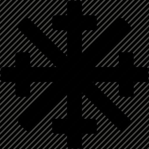 frost, ice flake, snow falling, snowflake, winter icon