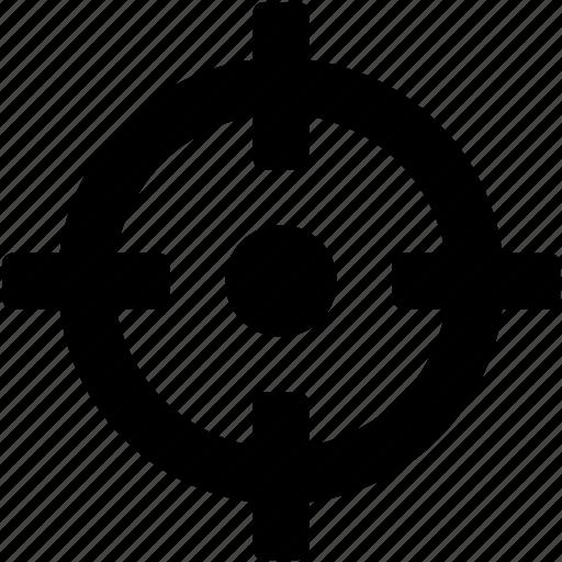 aim, crosshair, gps localization, gps symbol, target icon