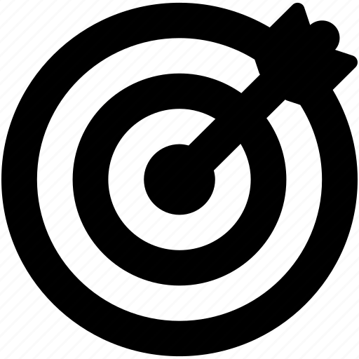 Bullseye, crosshair, dartboard, goal, target icon - Download on Iconfinder