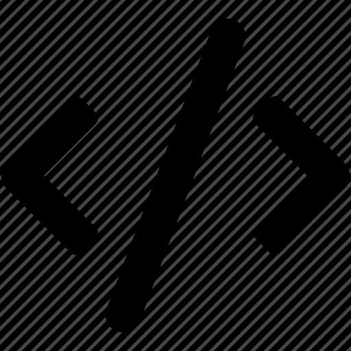 coding, div, html, html coding, source code icon