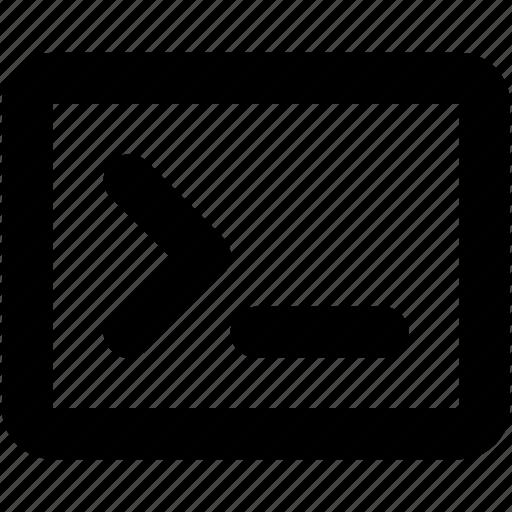 computer terminal, css, programming, scripting, terminal icon
