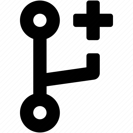 code fork, coding, development, hosting, programming icon