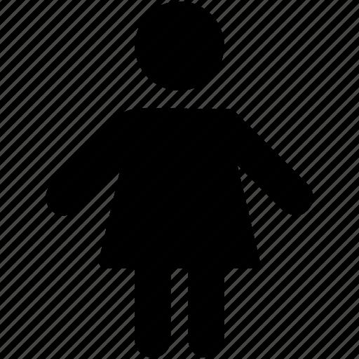girl, human, kid, person, teen girl icon